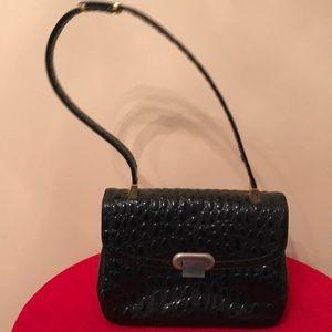Vintage 1950s Koret Embossed Leather Handbag